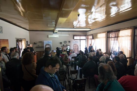 Μαρία Γκουγκουσκίδου: «Στηρίζουμε τη Γεωργία - στηρίζουμε την Κτηνοτροφία. Για να στηρίξουν με τη σειρά τους την κοινωνία να ορθοποδήσει»