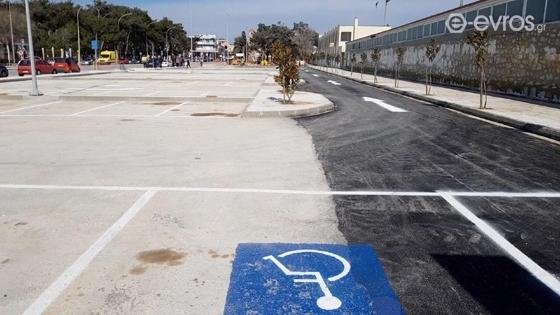 Παραδίδεται αύριο ολόκληρος ο χώρος στάθμευσης στο γήπεδο Φώτης Κοσμάς