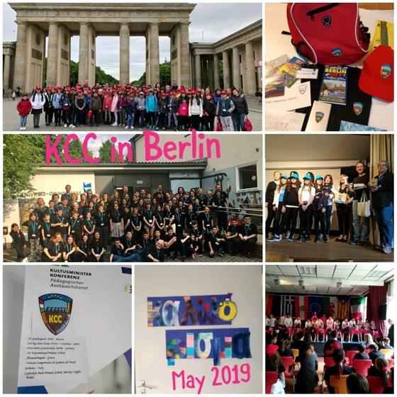Το 1ο Πειραματικό Σχολείο Αλεξανδρούπολης  κατακτά κάστρα και παλάτια στο Βερολίνο της Γερμανίας