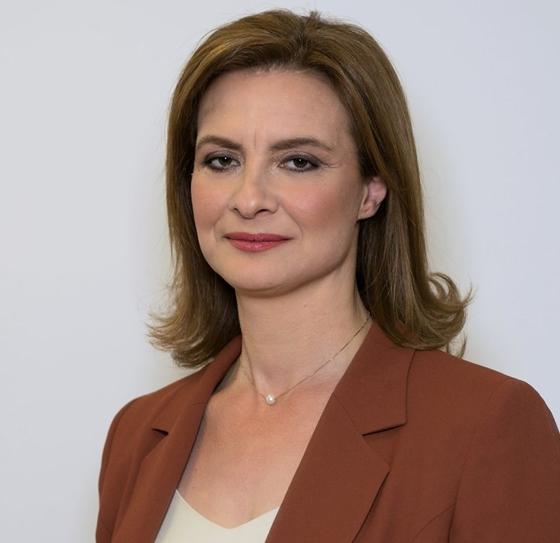 Η επικεφαλής της παράταξης «Δήμος Ορεστιάδας-Τόπος να Ζω», Μαρία Γκουγκουσκίδου.