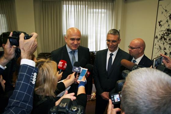 Με τον Τούρκο Πρέσβη συναντήθηκε ο περιφερειάρχης ΑΜ-Θ Χρήστος Μέτιος