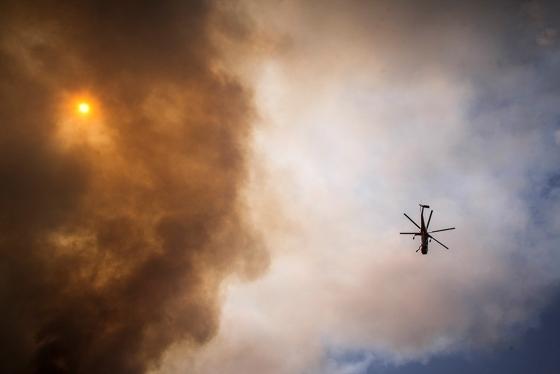 Φωτιά ξέσπασε στο Φυλαχτό -  2 Πετζετέλ σηκώθηκαν από την Χρυσούπολη