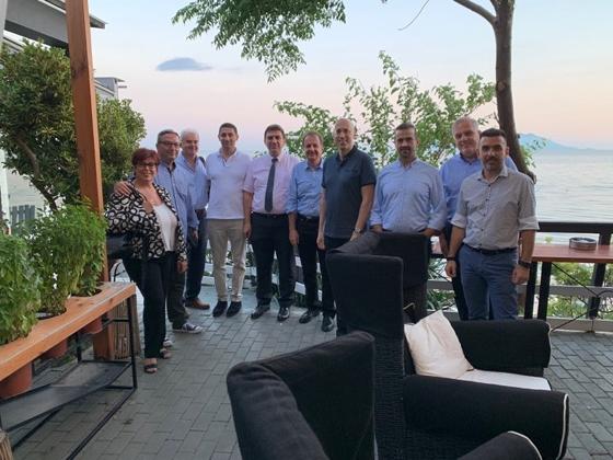 Αντιπροσωπεία του ΣΕΒ επισκέφθηκε επιχειρήσεις της ΑΜ-Θ