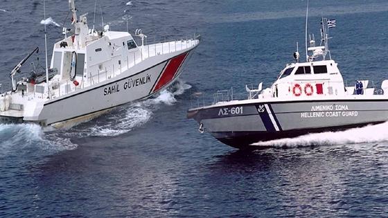Αποτέλεσμα εικόνας για Τουρκική ακταιωρός προσπάθησε να εμβολίσει Σκάφος του Λ/Σ ...