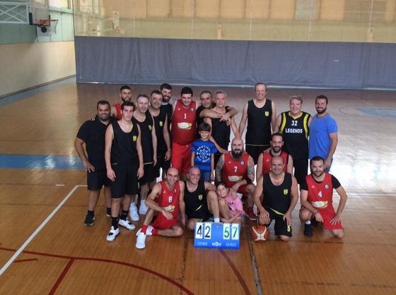 Ένας μπασκετικός αγώνας φιλίας διεξήχθη στην Κωνσταντινούπολη