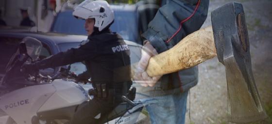 Έβρος: 29χρονος επιτέθηκε με τσεκούρι στην μητέρα του