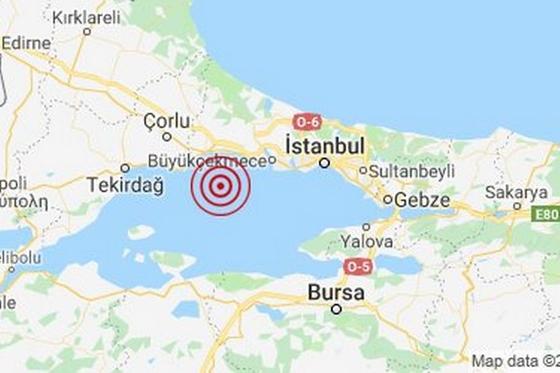 Ισχυρός σεισμός στην Τουρκία ταρακούνησε και τον Έβρο
