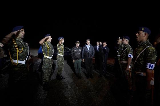 """Ο πρωθυπουργός στην νυχτερινή άσκηση """"Βελισσάριος 2019"""""""