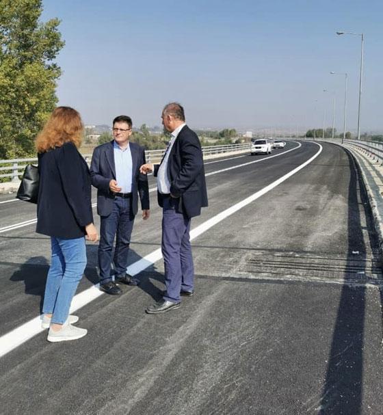 Ο Αντιπεριφερειάρχης Έβρου Δ. Πέτροβιτς επισκέφθηκε το σημείο.