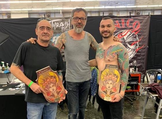 Ο Νίκος Κατσούλης (Nico Tattoo) ξανά στην κορυφή!