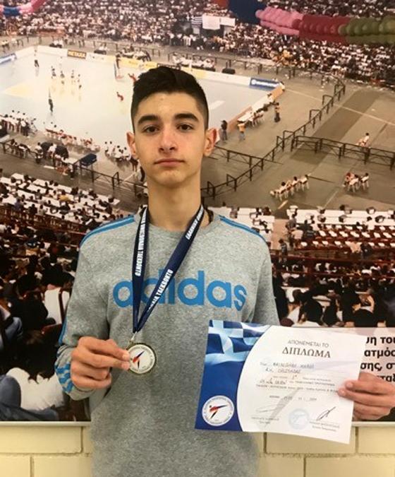 Ο νεαρός αθλητής από τα Ρίζια Ορεστιάδας που κάνει όλο τον Έβρο περήφανο!