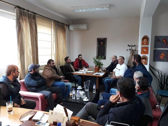 Συνάντηση του Δημάρχου Αλεξανδρούπολης με τη διοίκηση του Αγροκτηνοτροφικού Συλλόγου