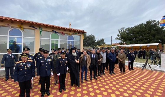 Αλεξανδρούπολη: Εορτάστηκε η Αγ. Βαρβάρα η προστάτιδα του Πυροβολικού (video & photo)