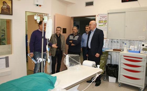 598.000 ευρώ από το ΕΣΠΑ της Περιφέρειας ΑΜΘ για τη Στεφανιαία Μονάδα και τις Καρδιολογικές Κλινικές του ΠΓΝΑ