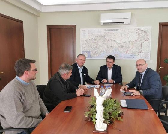 Φωτογραφικό στιγμιότυπο από τη συνάντηση