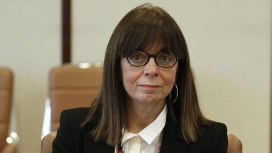 Πρόεδρος της Δημοκρατίας με 261 ψήφους η Κατερίνα Σακελλαροπούλου