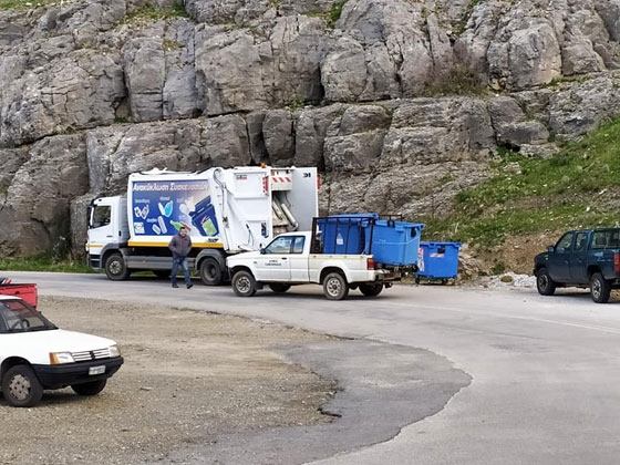42 νέοι κάδοι ανακύκλωσης στη Σαμοθράκη