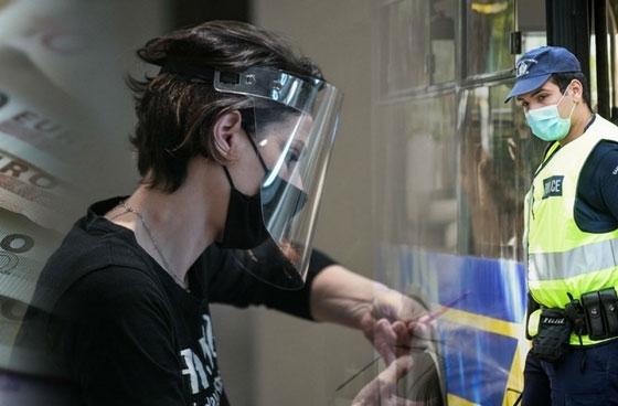22 πρόστιμα στην περιφέρεια ΑΜ-Θ για τη μη τήρηση κανόνων για μάσκα και αποστάσεις