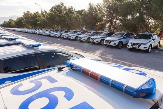 Ενισχύεται ο στόλος της Ελληνικής Αστυνομίας με άλλα 62 νέα οχήματα - Από 3 σε Αλεξανδρούπολη & Ορεστιάδα