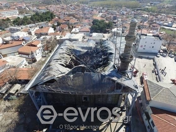 Τέμενος Βαγιαζήτ: Πόρισμα-φωτιά καίει υψηλόβαθμα στελέχη του Υπουργείου Πολιτισμού για την καταστρεπτική πυρκαγιά