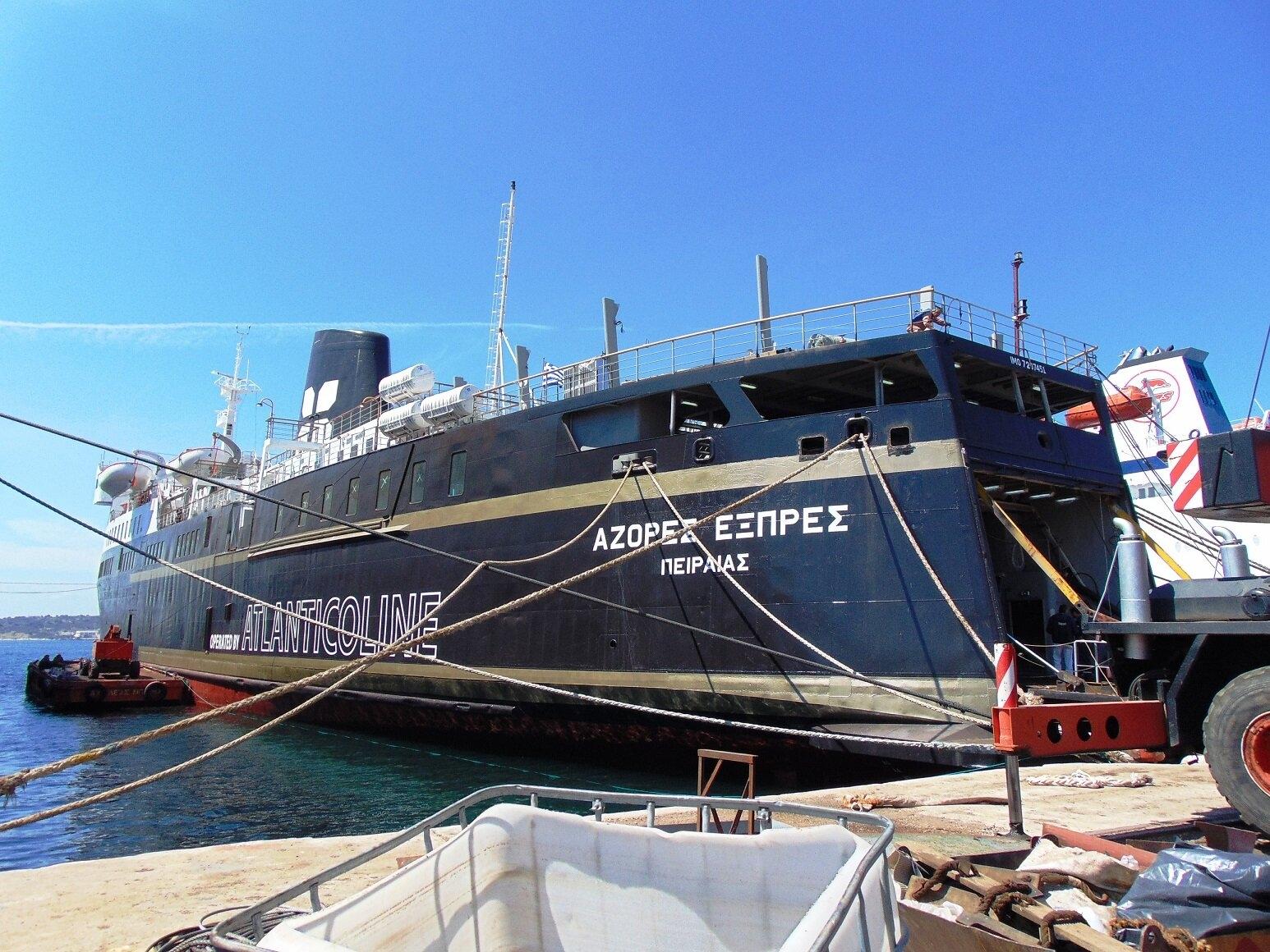 Αυτά είναι τα δρομολόγια του AZORES EXPRESS στην ακτοπλοϊκή γραμμή Αλεξανδρούπολης - Σαμοθράκης.
