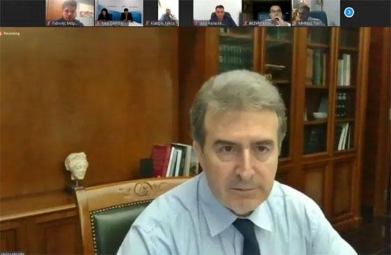 Με τον Υπουργό Προστασίας του Πολίτη επικοινώνησε ο Πρόεδρος της ΔΕΕΠ Ν.Δ. Έβρου Άκης Παρασκευόπουλος