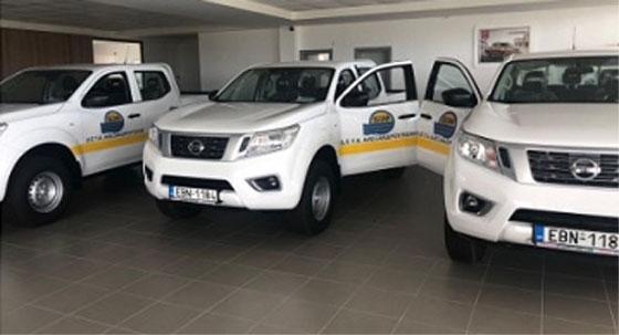 Πέντε νέα οχήματα για τη ΔΕΥΑ Αλεξανδρούπολης