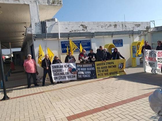 Στιγμιότυπο από τη διαμαρτυρία