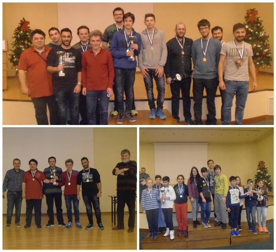 Με ένα κύπελλο και δύο χρυσά μετάλλια στις ειδικές κατηγορίες σκάκι ο Εθνικός Αλεξανδρούπολης