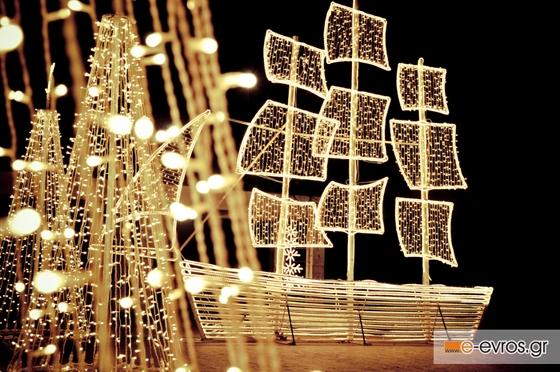 Αλεξανδρούπολη: Το εορταστικό ωράριο λειτουργίας των καταστημάτων