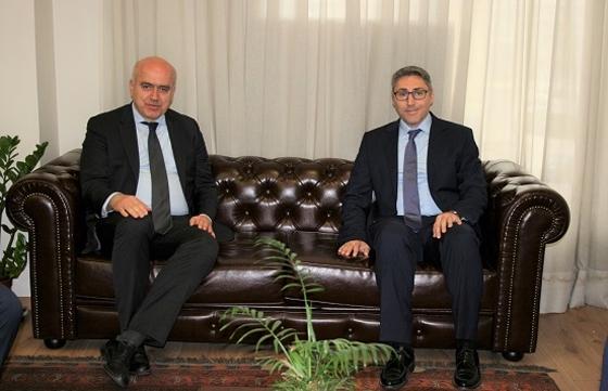 Mε τον Γενικό Πρόξενο της Τουρκίας συναντήθηκε ο Περιφερειάρχης ΑΜΘ