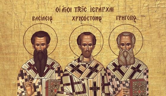 Ποιοι ήταν οι τρεις Ιεράρχες που τιμούμε κάθε χρόνο στις 30 Ιανουαρίου