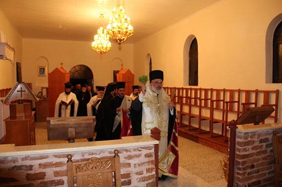 Θυρανοίξια του ανακαινισθέντος Ιερού Ενοριακού Ναού Αγίου Δημητρίου Σιταριάς.