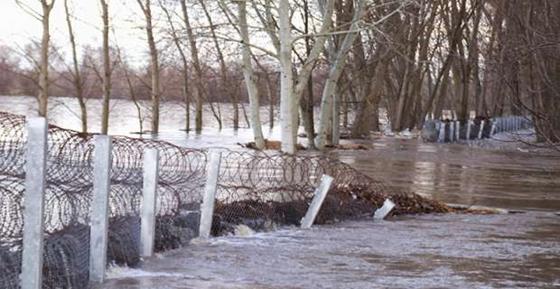 Δεν έχει επισκευασθεί ακόμα ο φράχτης του Έβρου.
