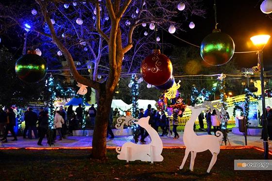 Δήμος Αλεξ/πολης: Πρόσκληση ενδιαφέροντος σε συλλόγους για το φετινό Πάρκο Χριστουγέννων.