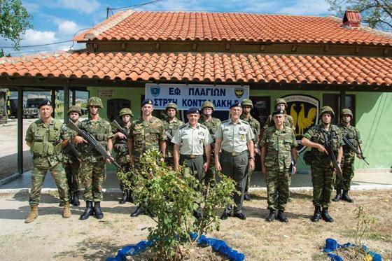 Μονάδες & φυλάκια στον Έβρο επισκέφθηκε ο αρχηγός ΓΕΣ (φωτο)