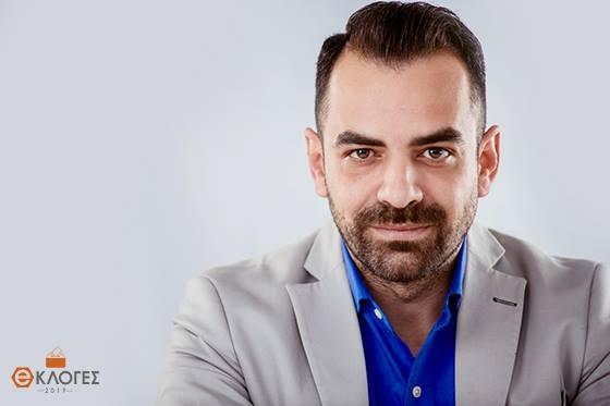 """Ο Γιάννης Σαρρίδης, υποψήφιος Δημοτικός Σύμβουλος με την παράταξη """"Πόλη & Πολίτες"""" του Βαγγέλη Λαμπάκη"""
