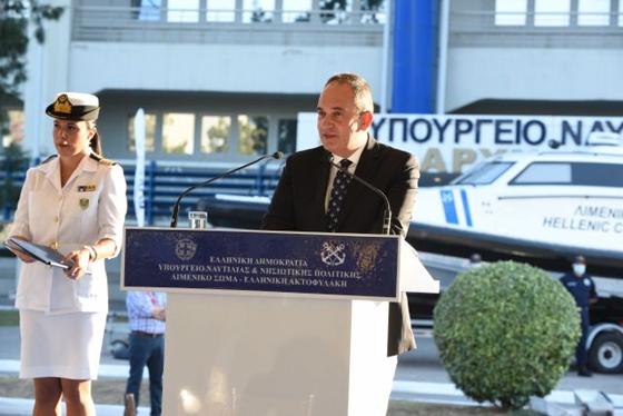 """Γ.Πλακιωτάκης: """"Σχεδιάζουμε να δοθεί ένα σκάφος στο νησί της Σαμοθράκης για την θωράκιση του νησιού"""""""