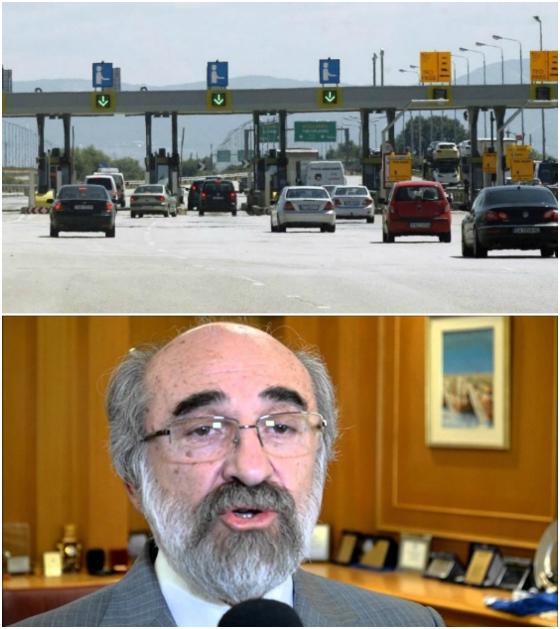 Λαμπάκης προς Υπουργό Μεταφορών & Δικτύων: Απαιτείται ματαίωση της διακήρυξης των διοδίων
