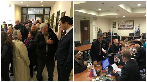 Προεδρικές εκλογές: Ψήφισαν οι Ρώσοι πολίτες της Αλεξανδρούπολης