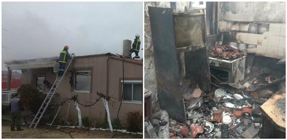 Η επέμβαση των Πυροσβεστών που δυστυχώς δεν κατέστη αρκετή