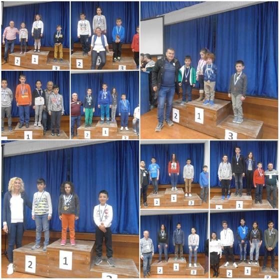 Με 16 μετάλλια γύρισαν οι μαθητές των σχολείων της Αλεξανδρούπολης από το 31ο ατομικό σχολικό πρωτάθλημα σκάκι!