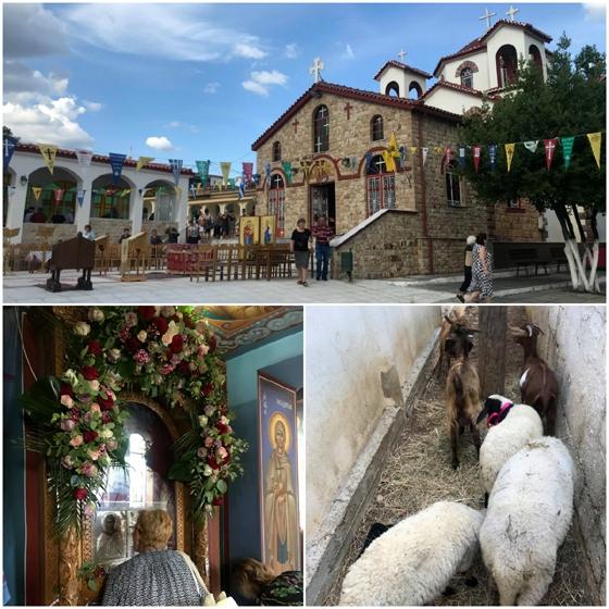 Αγία Μαρίνα Μαΐστρου: Η θαυματουργή εικόνα & τα τάματα