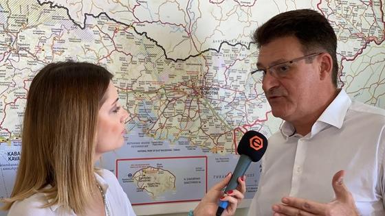 Στιγμιότυπο απο την συνάντηση του e-evros.gr με τον Δημήτρη Πέτροβιτς