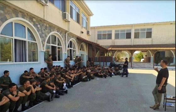 Επίσκεψη της Ε.ΣΥ.Φ.Ν.Ε στους νέους Συνοριακούς Φύλακες στη Σχολή Αστυνομίας του Διδυμοτείχου