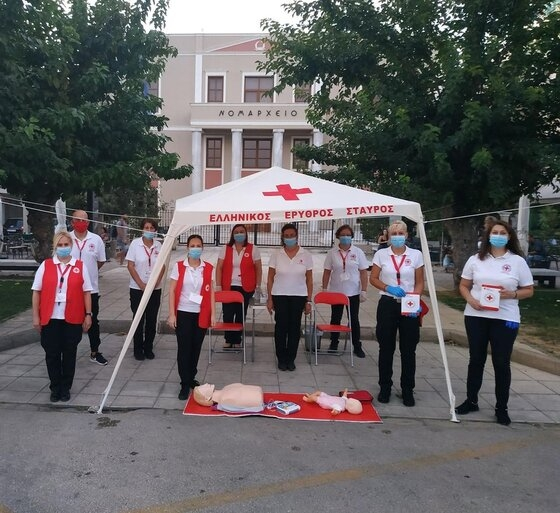 Ολοκληρώθηκαν με επιτυχία οι δράσεις του περιφερειακού τμήματος Ε.Ε.Σ. Αλεξανδρούπολης