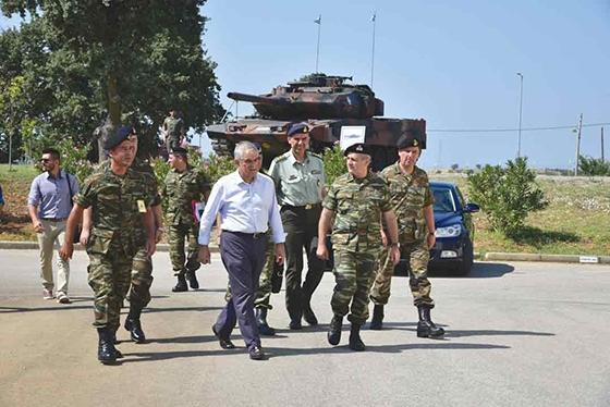 Τα έργα στο Δέρειο τα αναλαμβάνει ο Στρατός, σύμφωνα με τον κ. Τόσκα